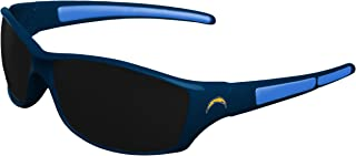 NFL Los Angeles Chargers Athletic Wrap Sunglassesteam Logo Athletic Wrap Sunglasses, Team Color, One Size