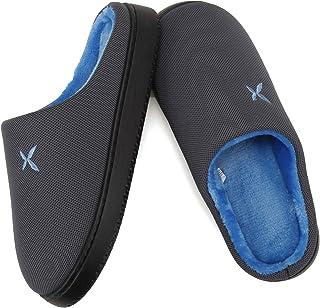 شباشب للنساء والرجال رغوة الذاكرة هوم وير خفيفة الوزن مقاومة للانزلاق من القطن منزل مغلق الإصبع أحذية عادية داخلية