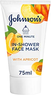 Johnson's Facial Mask, 1 Minute In-Shower Face Mask With Apricot, 75 ml, GI24500800