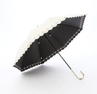 a.s.s.a 日傘 uvカット 遮光 長傘 軽量 晴雨兼用 UV 99.99% 遮熱効果 50cm レディース 花柄 レース パラソル FL089/FL130