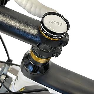 NC-17 4112 Connect AirBox Mount | Cykelfäste med stöldskydd för Apple AirTag | Endast för cyklar med A-headset, svart, uni...