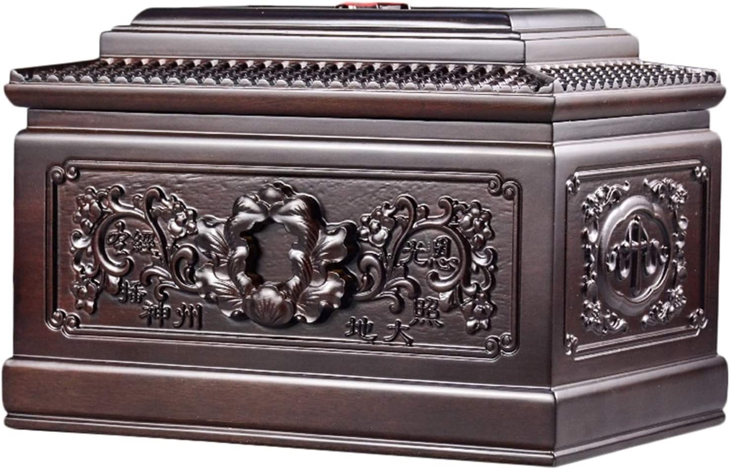 Wooden Cremation Urn Urns for Human Ashes - Meanin Carving Nippon It is very popular regular agency Adult