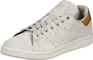 adidas Stan Smith Bb0042, Baskets pour Homme, Homme, BB0042, Blanc/Marron, 4.5 UK