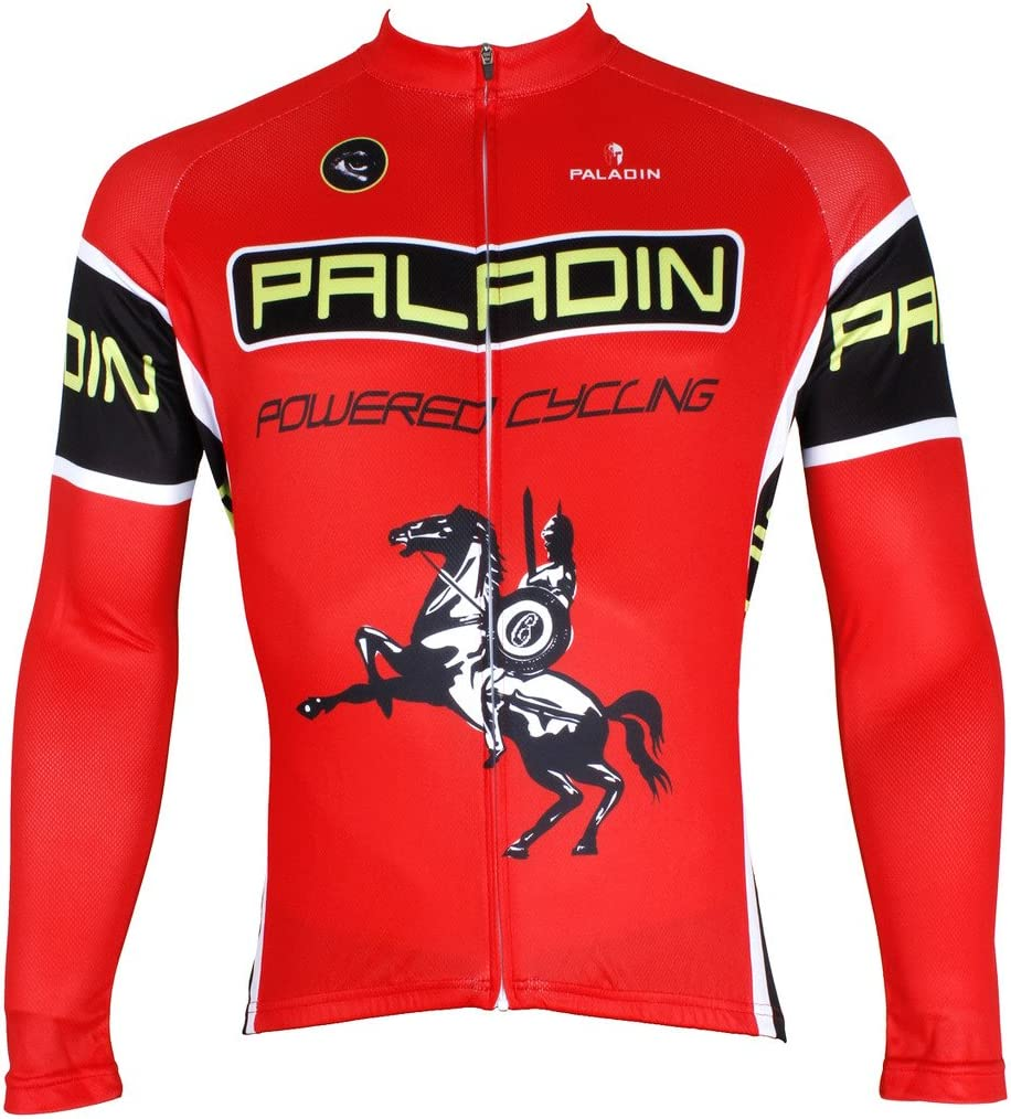 保障 PaladinSport Men's Knight Pattern 超目玉 Road Clothing and Cyc Bike Pro