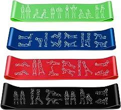Amonax Weerstandsbanden voor fitness, gym, workout band, trainingsband, fitnessbanden, set gymnastiekband voor sport, trai...