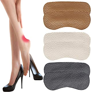 Heel Cushion Pads Heel Shoe Grips Liner Self-Adhesive Shoe Insoles, Heel Pads Inserts Make Shoe Fitter & Stop Heel Slipping Out, Heel Pads Prevents Chafing and Blisters, Makes Any Shoe Fit Perfectly.