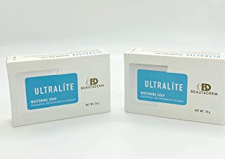 2X Beautederm Ultralite Soap 2 PACK
