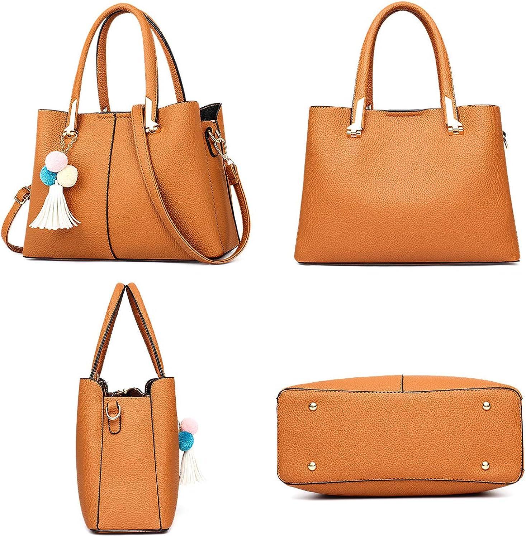 Damen Handtaschen Handtaschen Handtaschen Schulterbeutel Exull-0239 Frauen Stilvolle PU Designer Schultertasche Taschen Umhängetasche B07MVXVMQF  Elegante und robuste Verpackung 7f7722