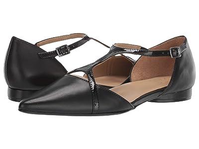 Naturalizer Hana (Black Leather/Shiny) Women