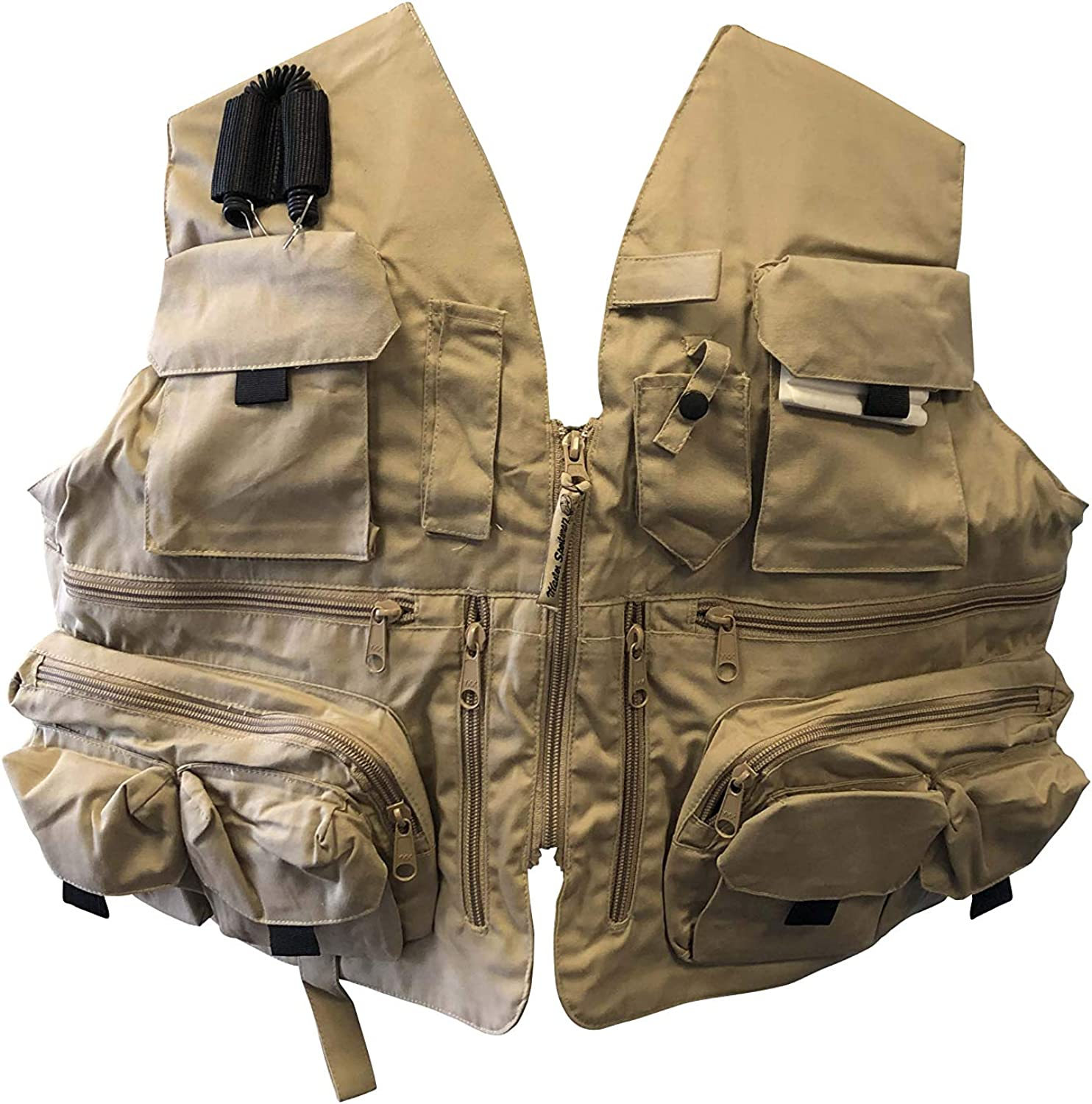 Nickanny's Sportsman Rugged Outdoor Fishing New York Mall 2021 spring and summer new Gear 24 Po Vest with
