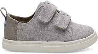 TOMS Kids Unisex Lenny (Infant/Toddler/Little Kid) Drizzle Grey Slub Chambray 5 Toddler M M