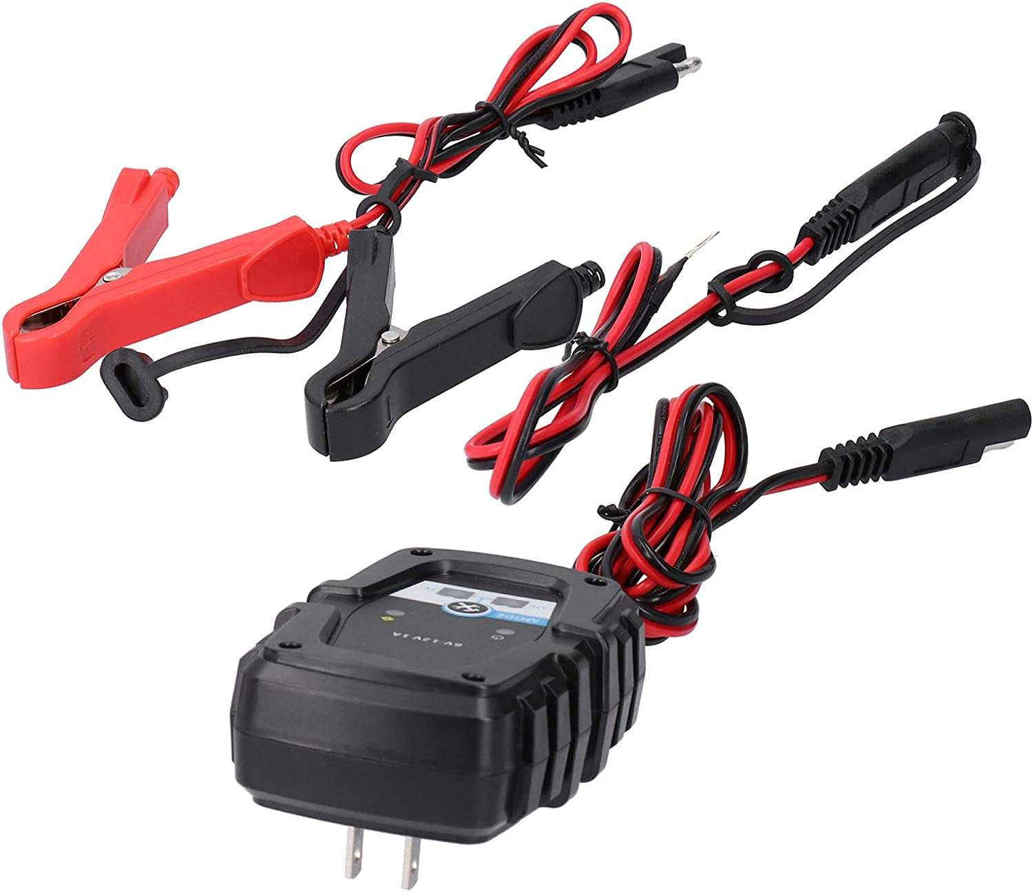 Akozon Battery Charger Max 89% OFF Maintainer 6V Automati 12V 1A Selling and selling Intelligent