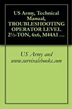 US Army, Technical Manual, TROUBLESHOOTING OPERATOR LEVEL 2½-TON, 6x6, M44A1 AND M44A2 SERIES TRUCKS, (MULTIFUEL), TRUCK, CARGO: M35A1, M35A2, M35A2C, ... POLESETTING: M764, TM 9-2320-209-10-3, 1980
