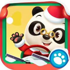 World is generated randomly for nearly endless play See snow covered trees, shining bright lights, and other Christmas sights! Dr. Panda's Bus has had a makeover with reindeer horns and a shiny red nose! Drawbridges, railroad crossings, tunnels and d...