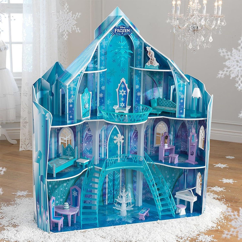 tiempo libre Disney Frozen Snowflake Mansion Dollhouse Dollhouse Dollhouse by KidKraft Frozen Dollhouse  Esperando por ti