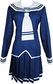 Tohru Honda Blue Winter School Uniform Outfit Dress Manga Costume Cosplay
