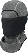 Balaclava Face Mask for Cold Weather Thermal Ski Mask Men Skiing Snowboard Motorcycling One Size Grey AWL-8BA-A20-002