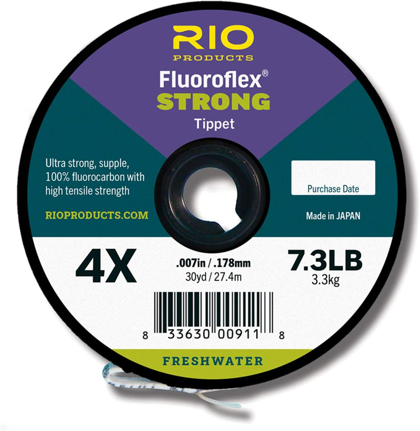 Rio Fluoroflex Strong New arrival Fluorocarbon Super beauty product restock quality top! Tippet Yards 30
