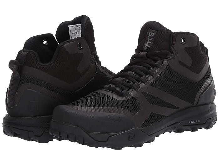 5.11 Tactical  A.T.L.A.S Mid (Black) Mens Shoes