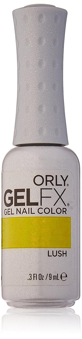 ハブ外科医スチュワードOrly GelFX Gel Polish - Lush - 0.3oz / 9ml