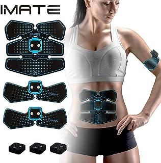 AB Stimulator Abdominal Muscle Toner IMATE AB Toning Belt Fitness Exercise Home Office Workout Equipment IMATE Smart Muscle Trainer Training Gear Toning Belt Rechargeable Muscle Exercise