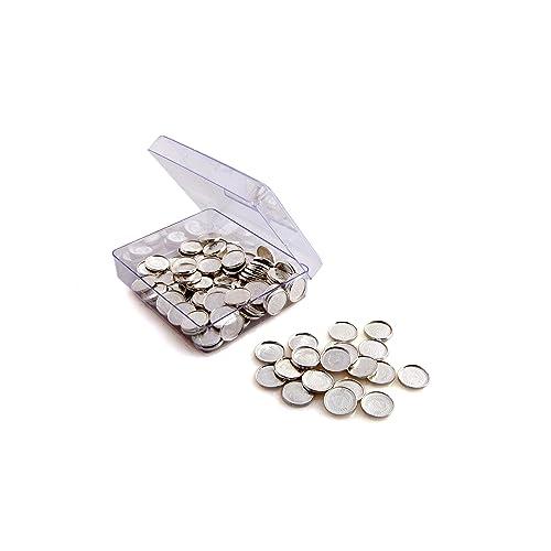Siri Creations Silver Asthothram Coins (108 Pcs)
