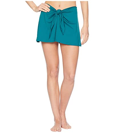 BECCA by Rebecca Virtue Color Code Skirt Cover-Up (Fern) Women