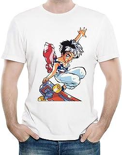 アニメGranzort Tシャツファッションメンズ漫画半袖ホワイトマジカルキンググランゾートTシャツトップティーシャツユニセックス服