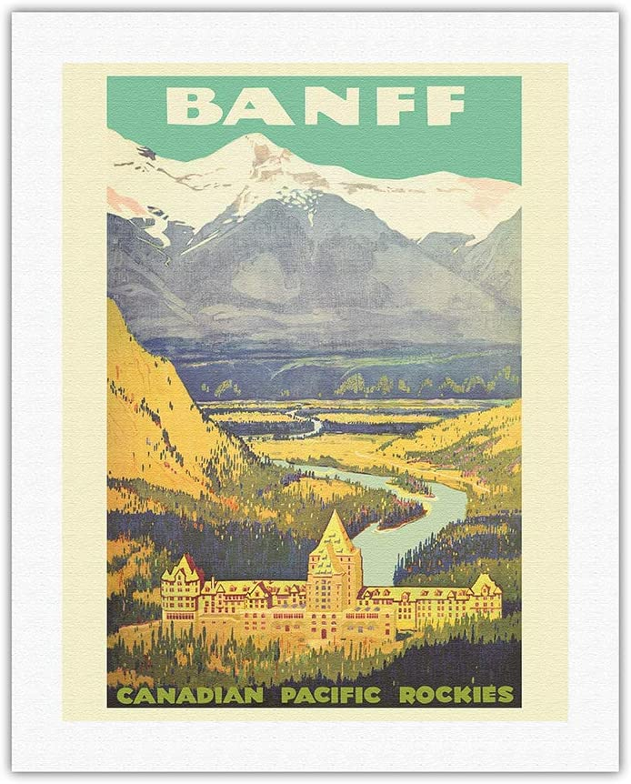 Banff Canada - Rockies Canadian Railway Award-winning store Rai Vintage New life Pacific