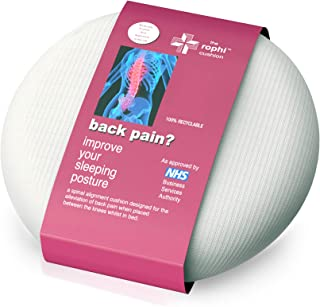 Cojin para rodillas para aliviar ciatica y el dolor lumbar | Almohada ciatica, Almohada dolor cadera, Almohada dormir alivio ciatica | Cojín para de dormir lateral, Almohadilla ortopédica