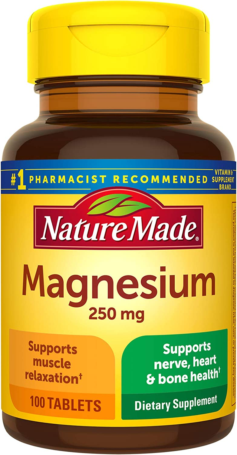 Nature Made Magnesium Ranking TOP12 Ranking TOP7 Oxide 250 mg 100 Count Nutrit Tablets for