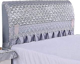 KOMOSO Cabecero elástico cubre cobertura completa cabeza de cama gruesa