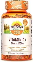 Sundown Vitamin D3 2000 IU, 350 Softgels