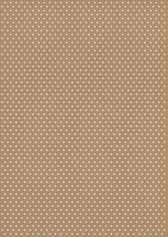 Rössler Papier - - Kreativ Kreativ Kreativ Designblatt A4- Polka Kraft HF weiß - Liefermenge  50 Stück B07CX8CB31 | Gutes Design  4e83e6