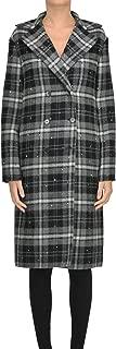 Ermanno Scervino Luxury Fashion Womens MCGLCSC000006005I Grey Coat   Season Outlet