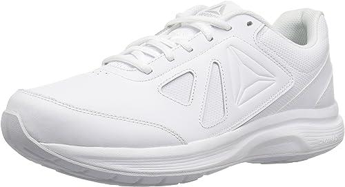 Reebok Wohommes Walk Ultra 6 DMX MAX D chaussures, blanc Steel-Wide d, 10 M US