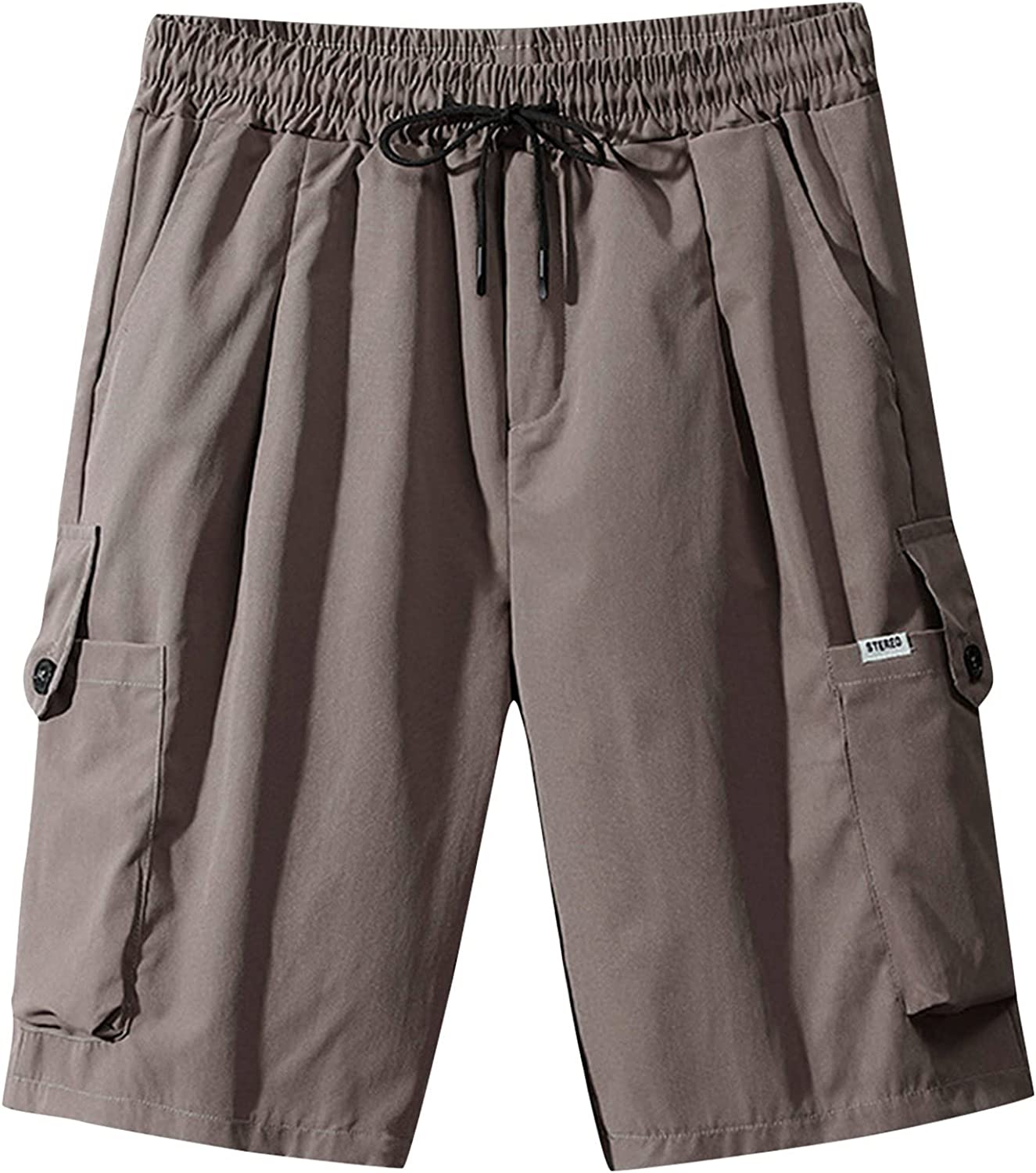 Mens Fashion Comfort Cargo Pants Summer Shorts Free shipping anywhere in the nation Casual Relax-fit In stock