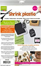 Vaessen Creative Shrink Plastic, Frosted, 25 Sheets, 21 x 30 cm, Fun Arts and Crafts Projects for All Ages