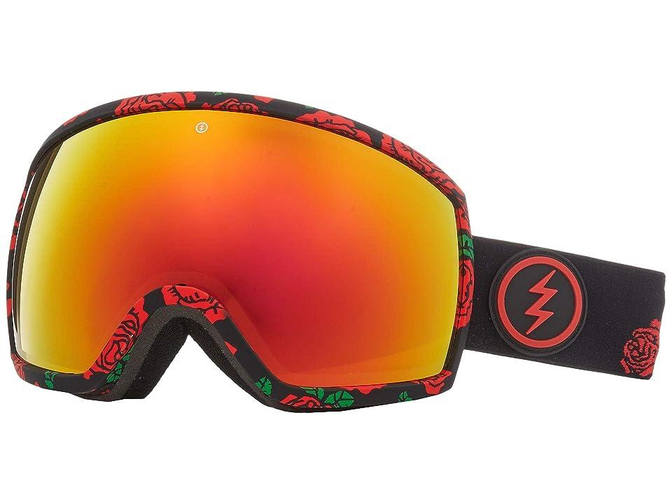 Electric Eyewear EGG (Rosa Brose/Red Chrome) Athletic Performance Sport Sunglasses