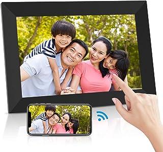 Ranipobo デジタルフォトフレーム 10.1インチ WiFi対応 タッチスクリーン 16GB内部ストレージ 1280*800 IPS視野角 自動回転 家族/友人/彼女/彼氏などへのプレゼント 日本語取扱説明書