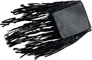 Kiki Boho   Mystica Negra, bolsa de gamuza y piel color negro