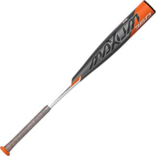 EASTON MAXUM 360 -3 BBCOR Baseball Bat | 2 5/8 XXL Barrel | 2020 | 1 Piece Composite | Seamless Carbon Construction | XXL Barrel Longest & Biggest Sweet Spot In The Game | Lizard Skin Grip