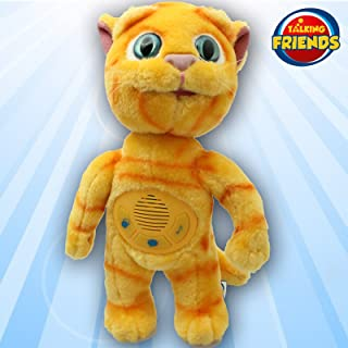 Tom and Friends Plush Toy 5292522136748Talking Friends Talking Ginger Superstar