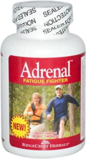 RidgeCrest Herbals Adrenal Fatigue Fighter - 60 Vegetarian Capsules