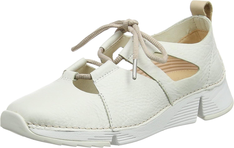 Clarks Women's Tri Sense Low-Top Sneakers White