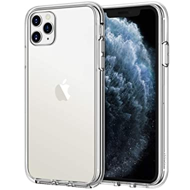 JETech Case for iPhone 11 Pro Max (2019), 6.5-Inch, Shockproof Bumper Cover, Anti-Scratch Clear Back, HD Clear