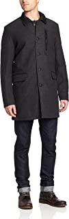 Men's Reversible Quilted Coat with Removable Vest