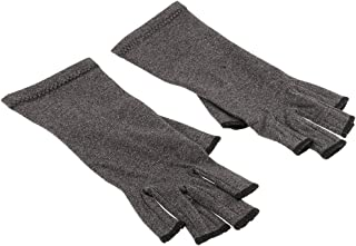 BAOBLADE Mens Womens Cotton Compression Gloves Hand Arthritis Joint Soreness Relief L