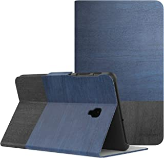 MoKo Samsung Galaxy Tab A 8.0 2017 Case - Lightweight Stand Scratch Proof Folio Cover Case Protector Holder for Galaxy Tab A 8.0 (SM-T380/T385) 2017 Release(NOT FIT 2015 Tab A 8.0), Blue & Gray