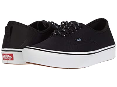 Vans ComfyCush Authentic SF ((Perf) Black/True White) Skate Shoes